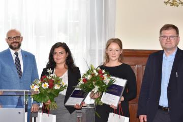 Prof. Dr. Arkadiusz Radwan, Nelli Felker, Anna-Lena Krug, Prof. Dr. Igor Kąkolewski