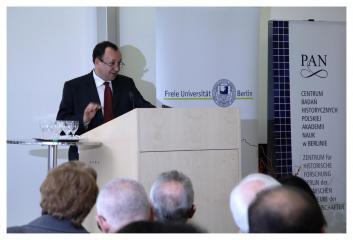 prof. Robert Traba na FU Berlin, 2006