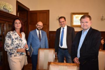 Członkowie jury: Prof. Dr. Beata Halicka, Prof. Dr. Arkadiusz Radwan, Prof. Dr. Alexander Wöll, Prof. Dr. Igor Kąkolewski