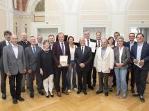 Członkowie Prezydium Wspólnej Polsko-Niemieckiej Komisji Podręcznikowej