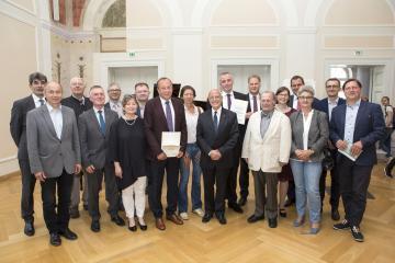 Mitglieder des Präsidiums der Gemeinsamen Deutsch-Polnischen Schulbuch Kommission