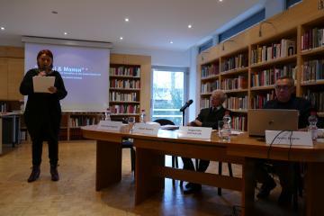 Dr. Małgorzata Stolarska-Fronia, Nathan Diament, Andrij Bojarov