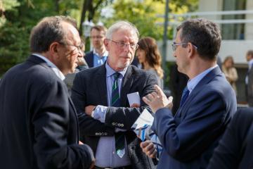 Robert Traba, Michael G. Müller und der Botschafter Andrzej Przyłębski