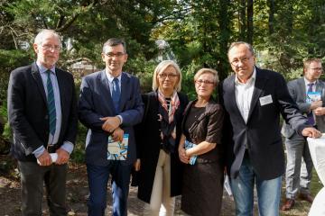 Michael G. Müller, Andrzej Przyłębski, Julia Przyłębska, Małgorzata Bochwic-Ivanovska i Robert Traba