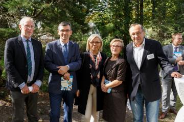 Michael G. Müller, Andrzej Przyłębski, Julia Przyłębska, Małgorzata Bochwic-Ivanovska und Robert Traba