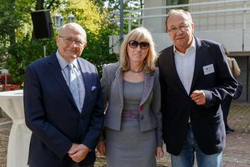 Andrzej B. Legocki, Elżbieta Frąckowiak i Robert Traba
