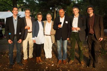 Benjamin Völkl, Diethard Sawicki, Anna Labentz, Hans Henning Hahn, Robert Traba, Lothar Quinkenstein und Łukasz Żebrowski
