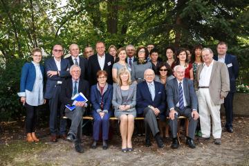 Mitglieder des wissenschaftlichen Beirates und Mitarbeiter des ZHF