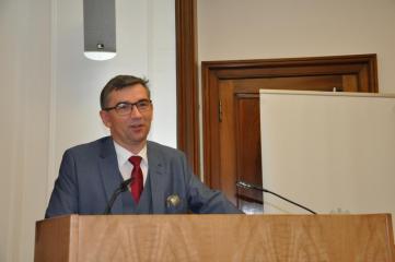 Ambasador RP w Berlinie,  S. E. Prof. zw. dr hab. Andrzej Przyłębski