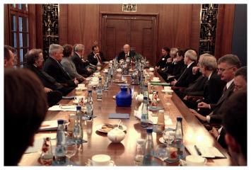Pierwsze posiedzenie Rady Naukowej CBH PAN, 2006